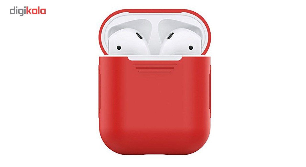 کاور محافظ سیلیکونی مدل Xberstar مناسب برای کیس Apple AirPods main 1 1