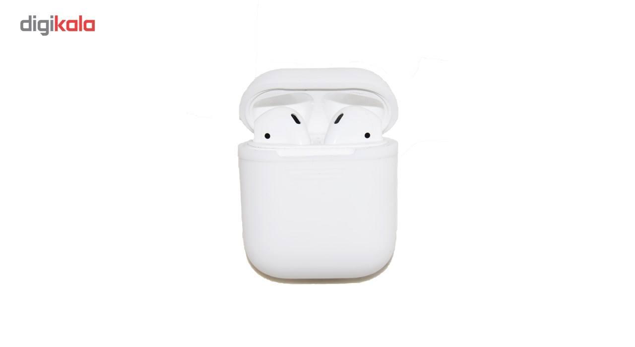کاور محافظ سیلیکونی مدل Xberstar مناسب برای کیس Apple AirPods main 1 4
