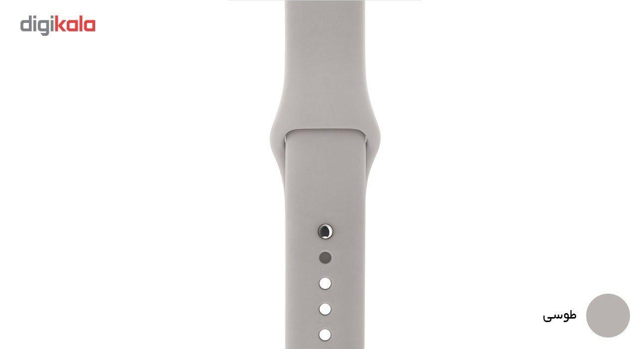 بند لاستیکی مدل Sport Band مناسب برای اپل واچ 42 میلی متری main 1 7