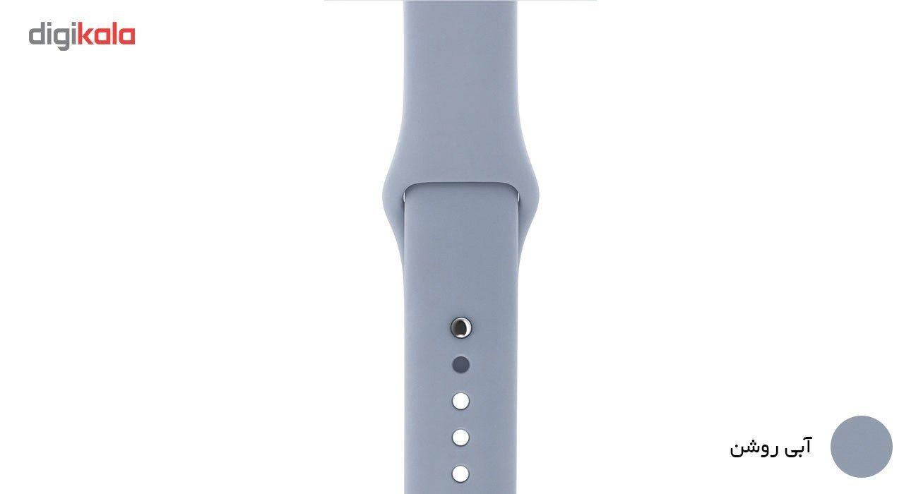 بند لاستیکی مدل Sport Band مناسب برای اپل واچ 42 میلی متری main 1 10