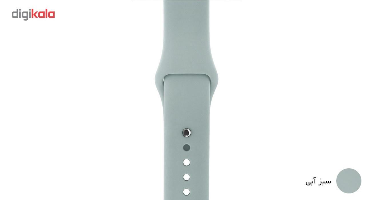 بند لاستیکی مدل Sport Band مناسب برای اپل واچ 42 میلی متری main 1 13