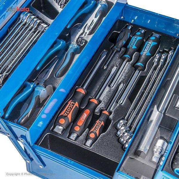 مجموعه 57 عددی جعبه ابزار لیکوتا مدل AHB-533K01 main 1 8