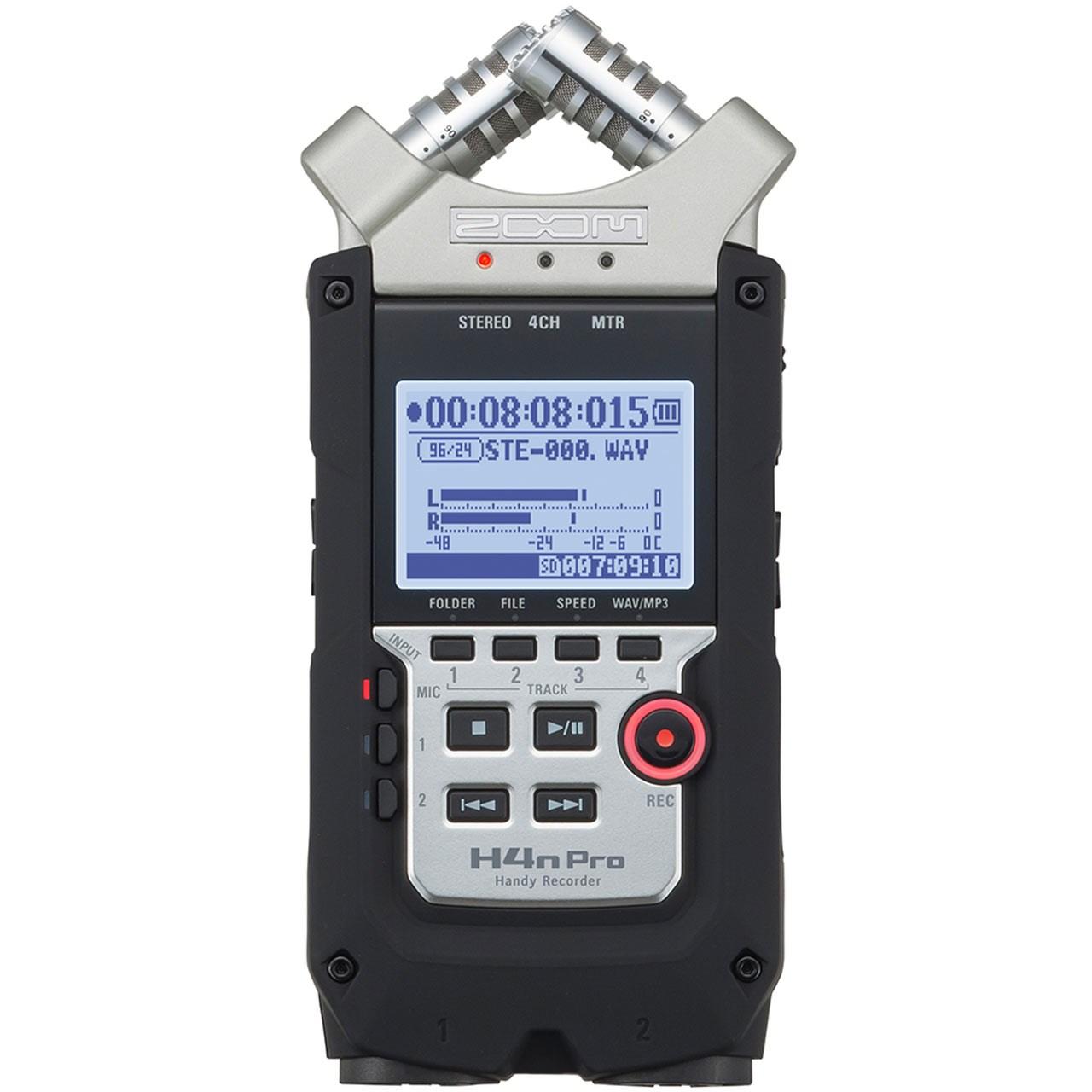 ضبط کننده حرفه ای صدا زوم مدل H4N-Pro