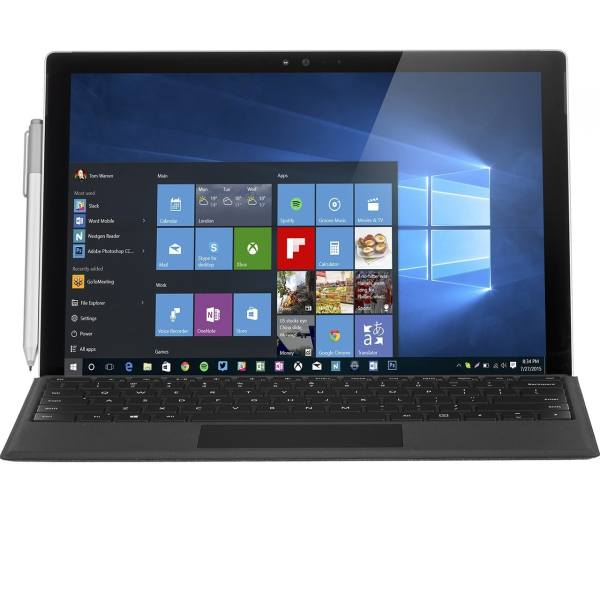 تبلت مایکروسافت مدل Surface Pro 4 - B به همراه کیبورد و کیف کلاسوری Incipio مدل Faraday Advanced