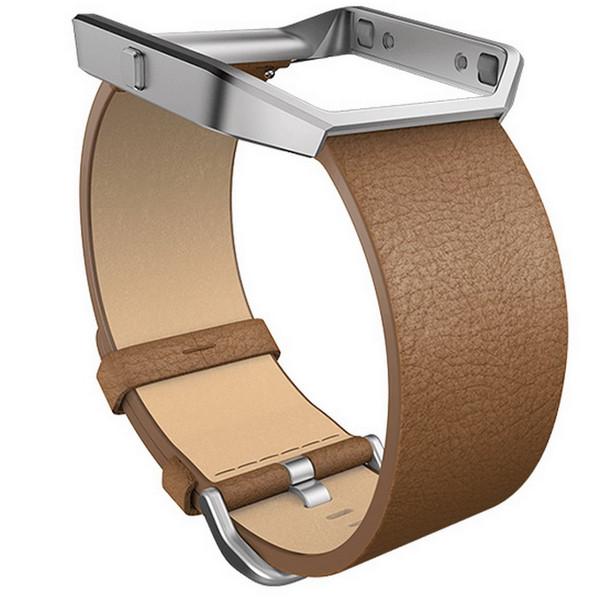 بند مچ بند هوشمند فیت بیت مدل Blaze Leather سایز بزرگ