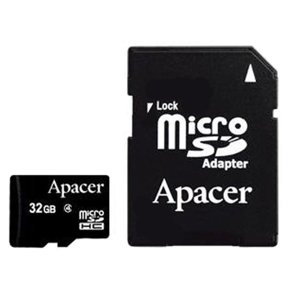 کارت حافظه میکرو اس دی اپیسر 32GB کلاس 10 با آداپتور