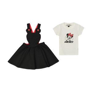 ست تی شرت و سارافون دخترانه تودوک مدل 2151205-99