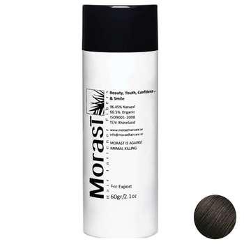 پودر پرپشت کننده موی مورست مدل Black مقدار 60 گرم