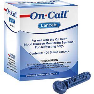 سوزن تست قند خون ایکان مدل On Call G124-10A