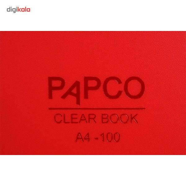 کلیر بوک 100 برگ پاپکو کد  A4-100 M main 1 12