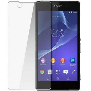 محافظ صفحه نمایش شیشه ای مدل Super Clear مناسب برای گوشی موبایل سونی Xperia Z2