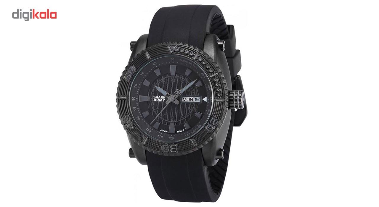 خرید ساعت مچی عقربه ای مردانه شارک آرمی مدل Saw162 | ساعت مچی