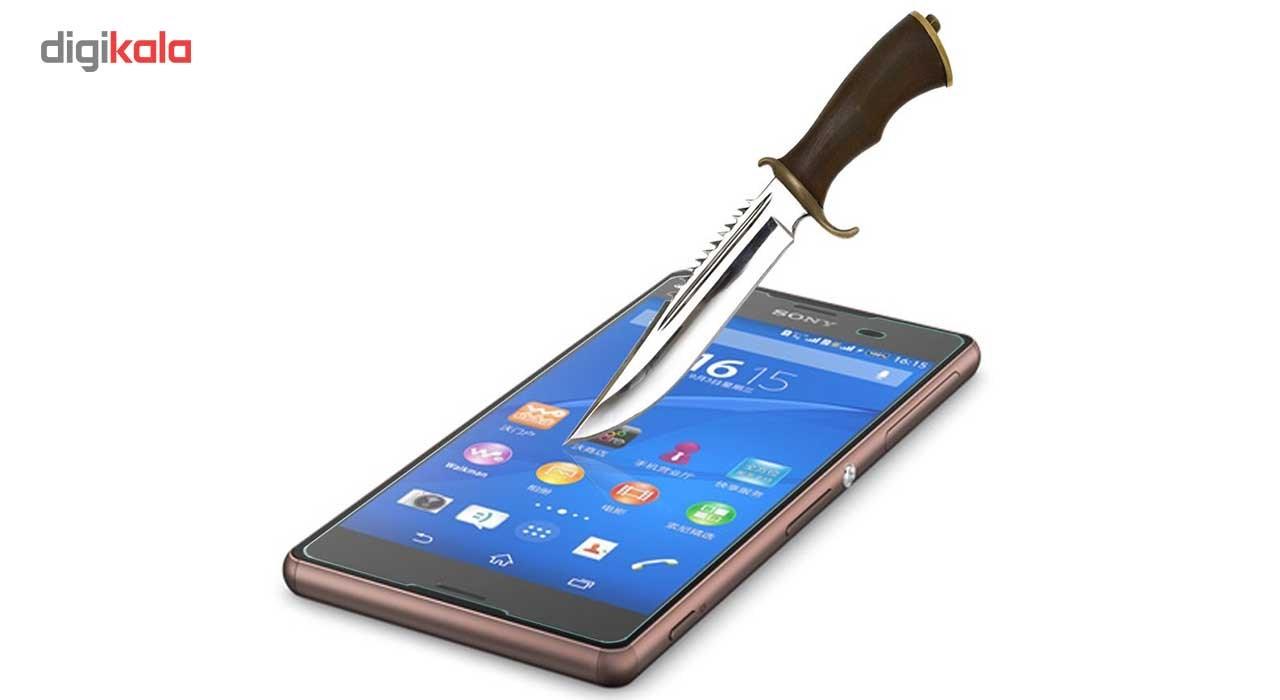 محافظ صفحه نمایش شیشه ای مدل Super Clear مناسب برای گوشی موبایل سونی Xperia Z2 main 1 2
