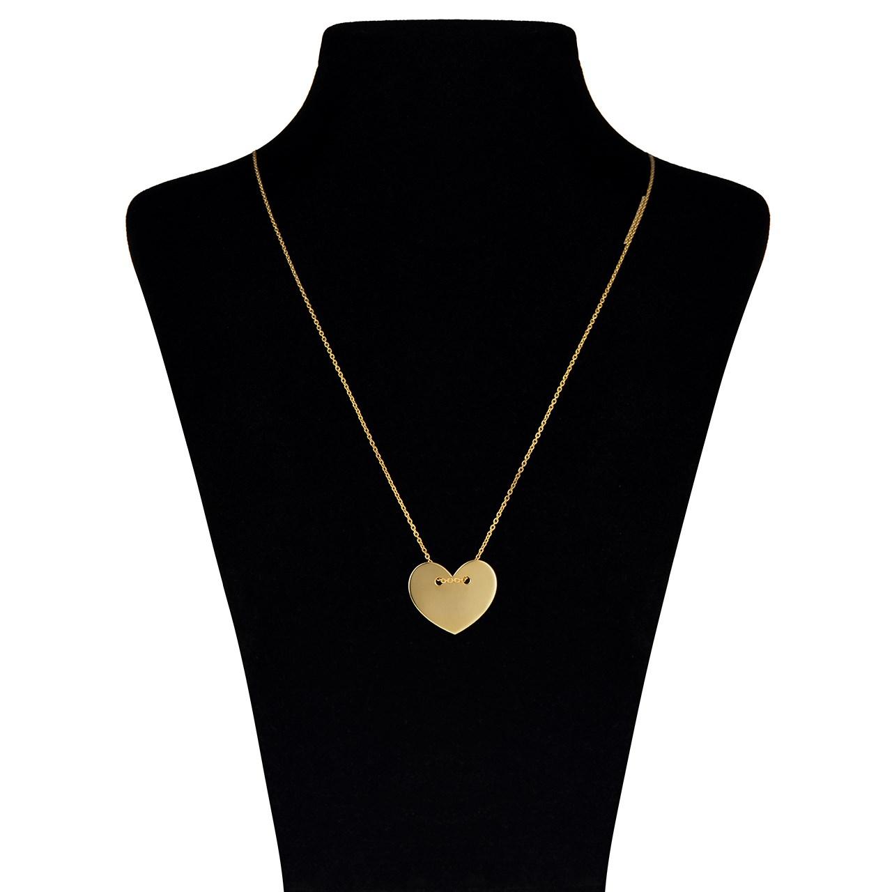 گردنبند طلا 18 عیار ماهک مدل MM0370