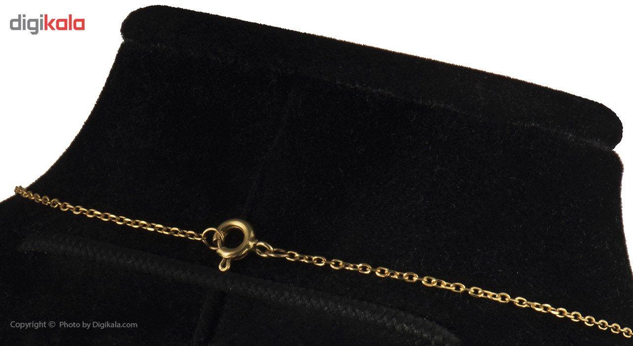 گردنبند طلا 18 عیار ماهک مدل MM0370 -  - 4