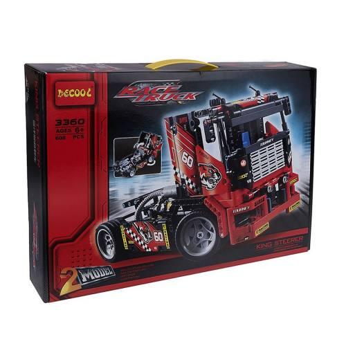 ساختنی دکول مدل Racer Truck