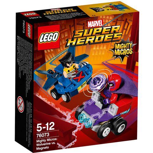 لگو سری Marvel Super Heroes مدل Mighty Micros Wolverine VS Magneto 76073