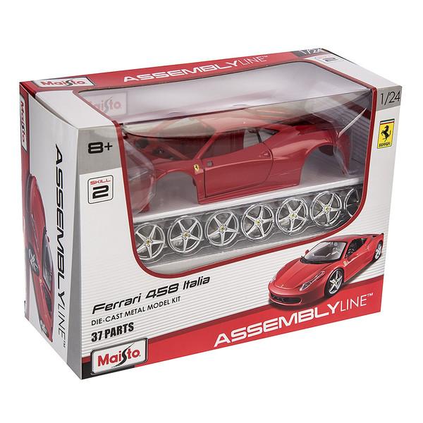 ساختنی مایستو مدل Ferrari 458 Italia
