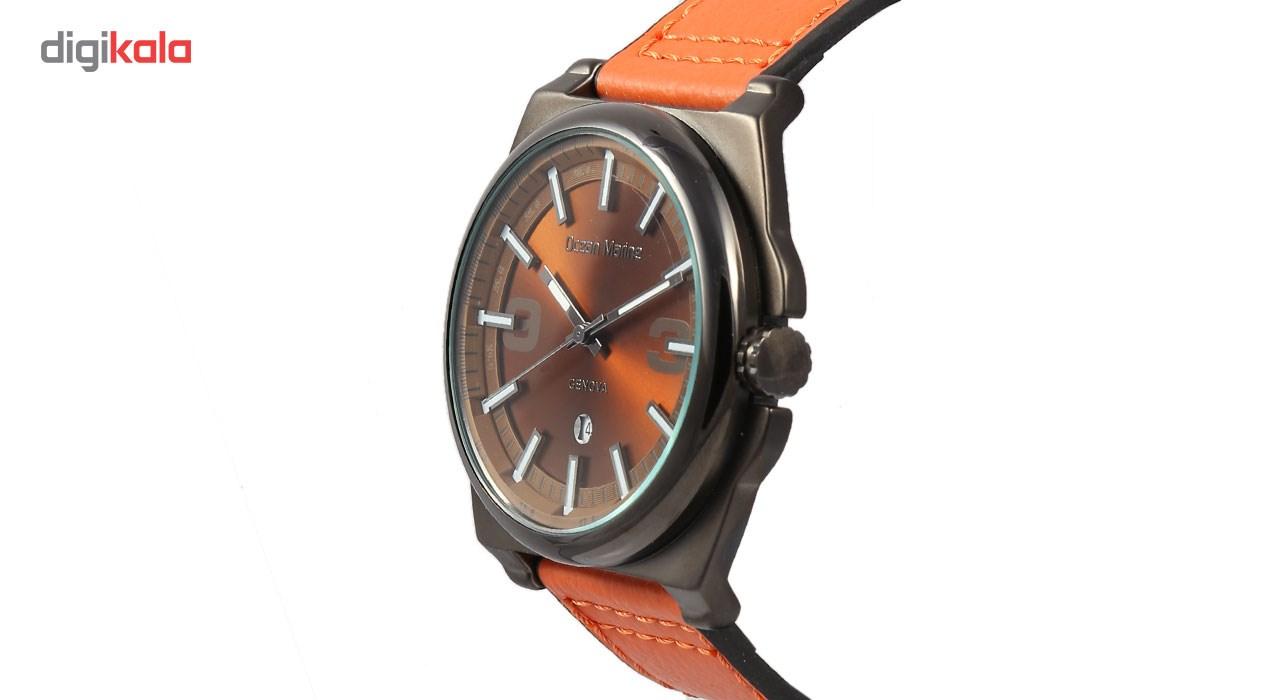 ساعت مچی عقربه ای مردانه اوشن مارین مدل OM-8010-4