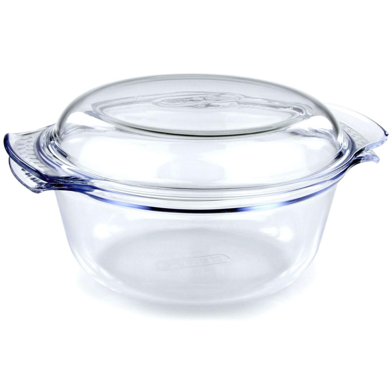 خوراک پز پیرکس مدل Round حجم 1.5 لیتر
