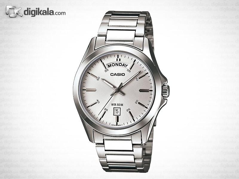 خرید ساعت مچی عقربه ای مردانه کاسیو MTP-1370D-7A1VDF