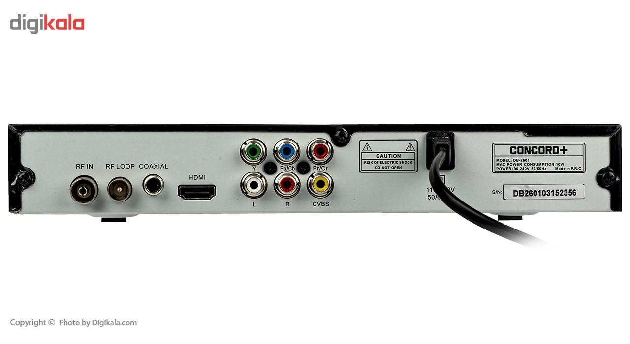 گیرنده دیجیتال کنکورد پلاس مدل DB-2601