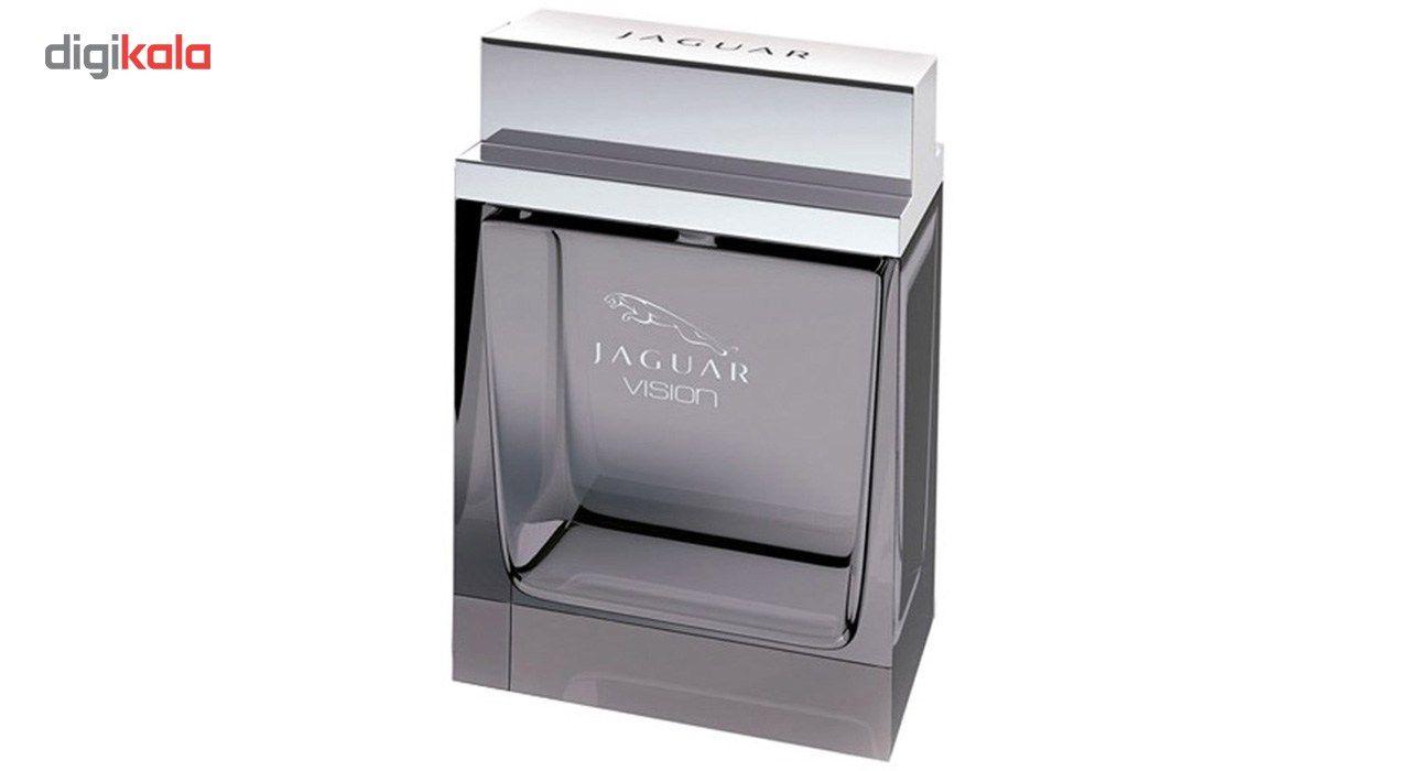 ادو تویلت مردانه جگوار مدل Vision حجم 100 میلی لیتر  Jaguar Vision Eau De Toilette For Men 100ml