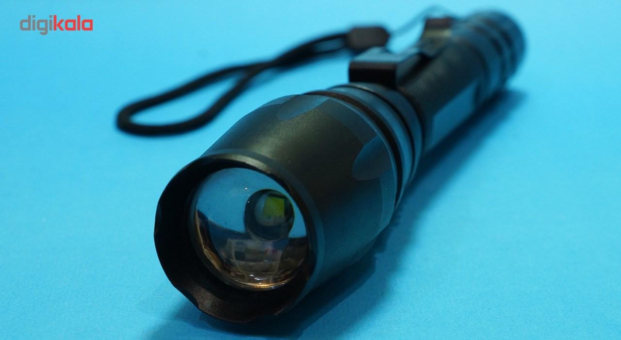 چراغ قوه کری طرح پلیسی مدل Highlighttorch