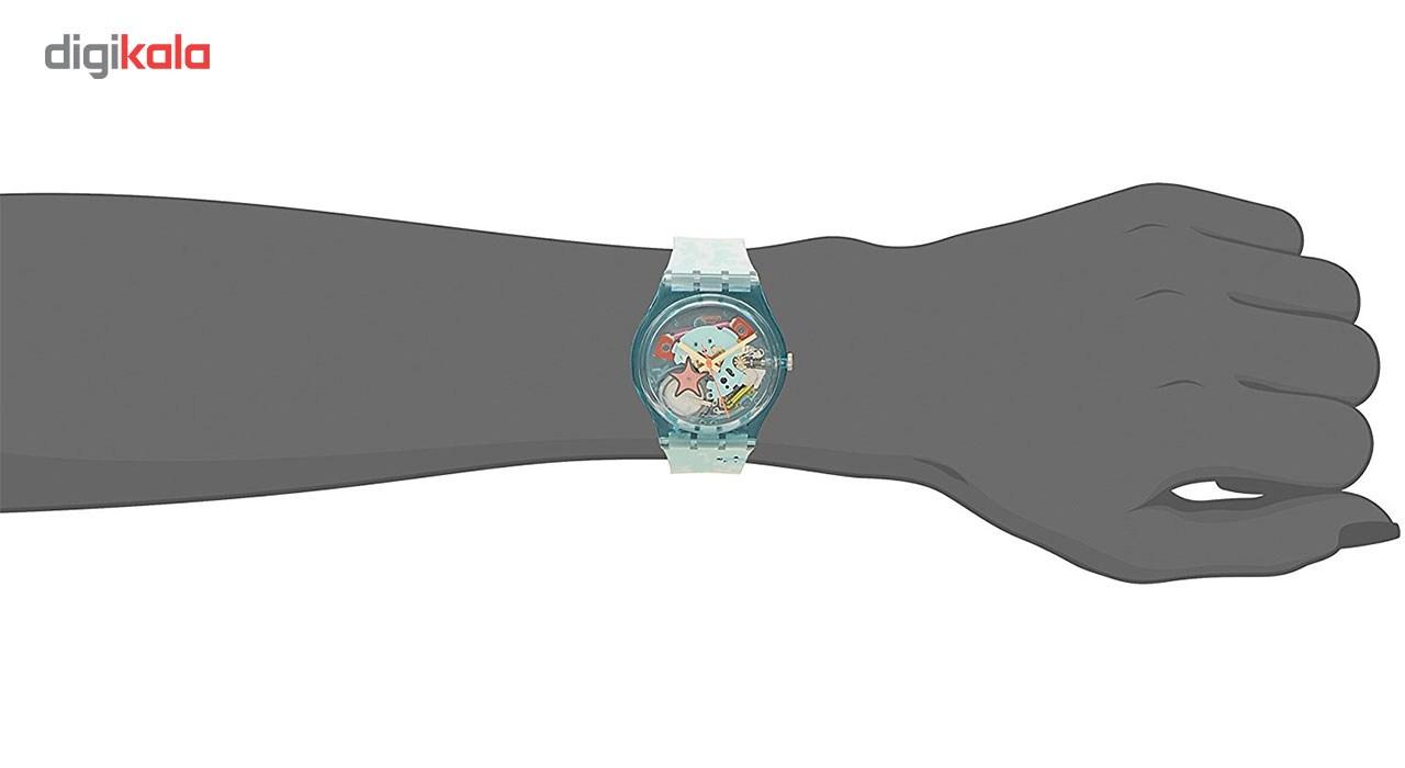 ساعت مچی عقربه ای سواچ مدل GL121