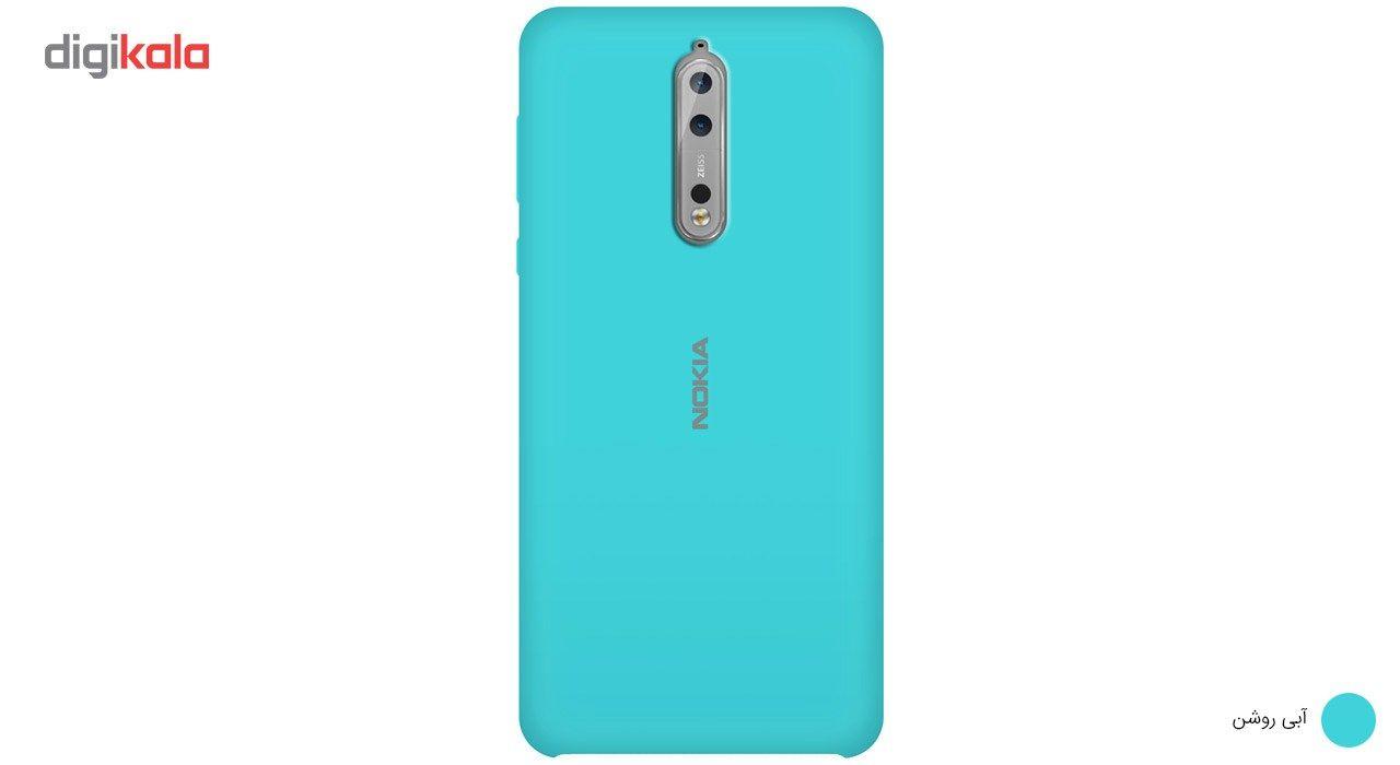 کاور سیلیکونی مناسب برای گوشی موبایل نوکیا 8 main 1 1