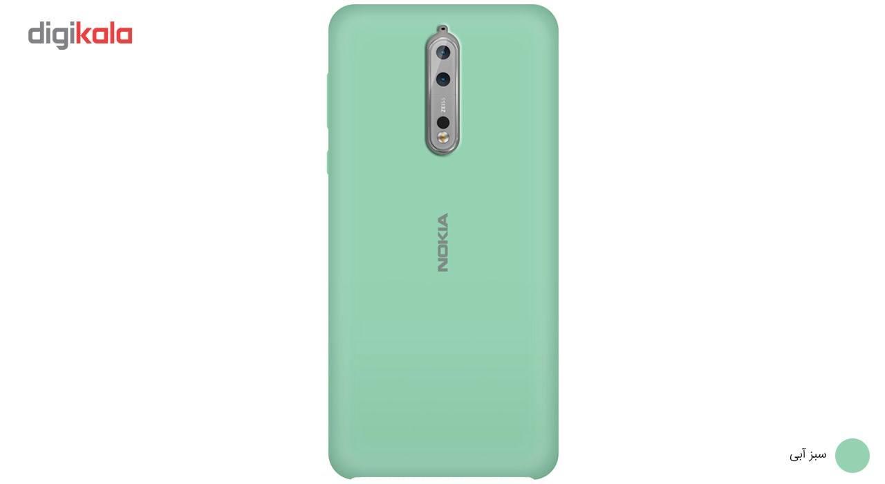 کاور سیلیکونی مناسب برای گوشی موبایل نوکیا 8 main 1 2