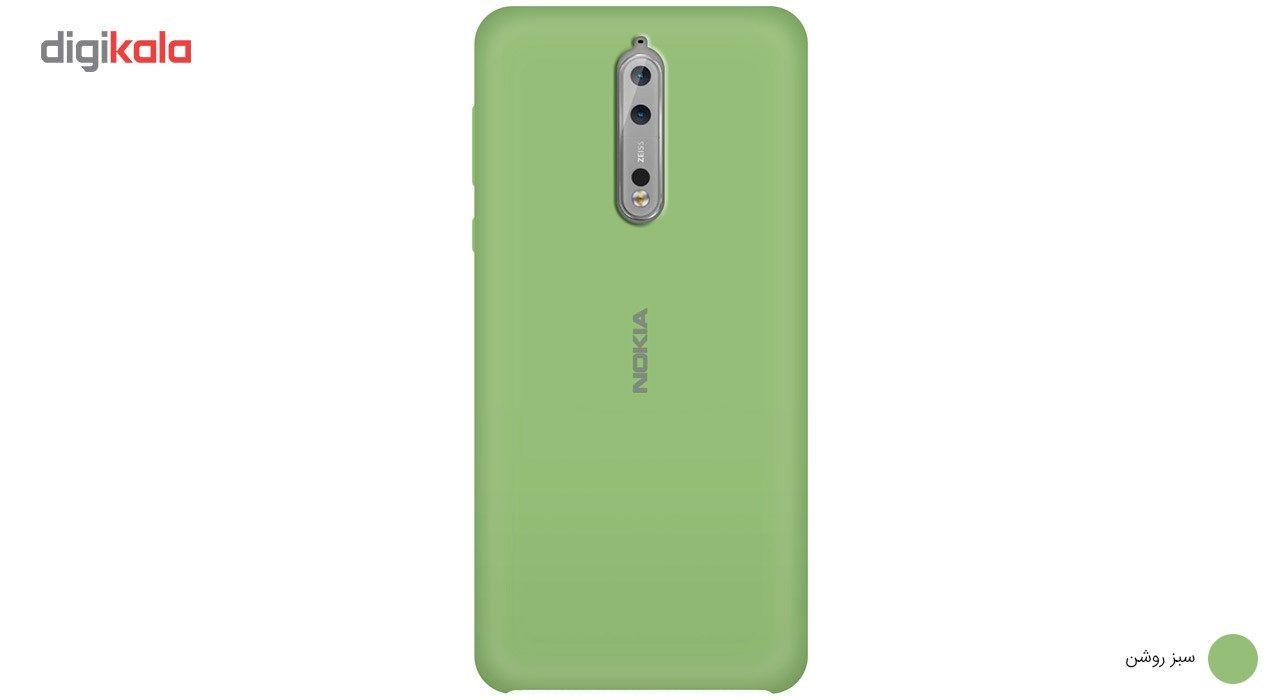 کاور سیلیکونی مناسب برای گوشی موبایل نوکیا 8 main 1 3