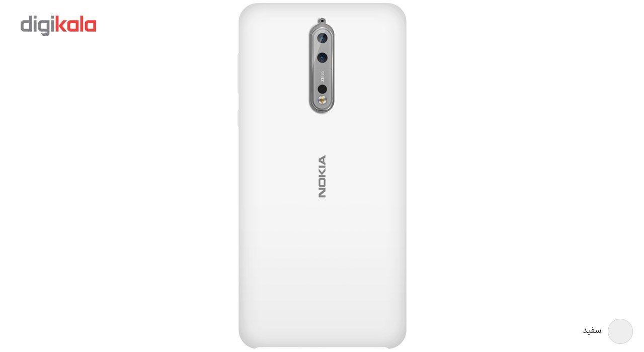 کاور سیلیکونی مناسب برای گوشی موبایل نوکیا 8 main 1 4