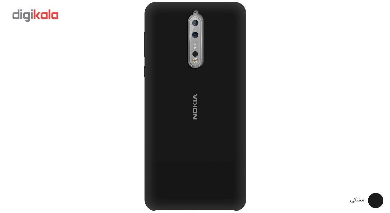 کاور سیلیکونی مناسب برای گوشی موبایل نوکیا 8 main 1 5