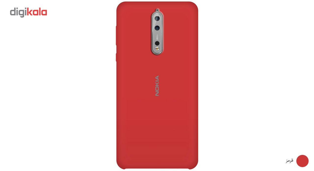 کاور سیلیکونی مناسب برای گوشی موبایل نوکیا 8 main 1 6