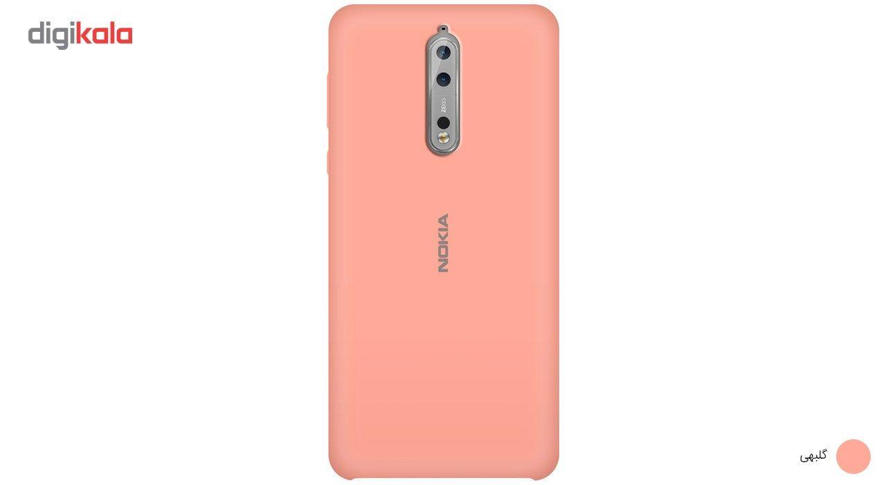 کاور سیلیکونی مناسب برای گوشی موبایل نوکیا 8 main 1 7