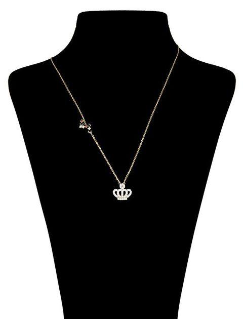 گردنبند طلا 18 عیار ماهک مدل MM0484 - مایا ماهک -  - 1