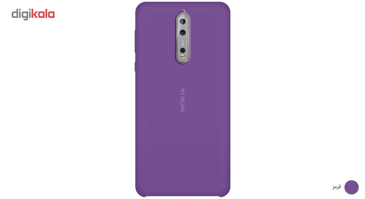 کاور سیلیکونی مناسب برای گوشی موبایل نوکیا 8 main 1 8