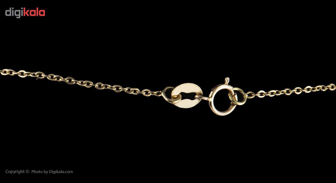 گردنبند طلا 18 عیار ماهک مدل MM0484 - مایا ماهک -  - 4