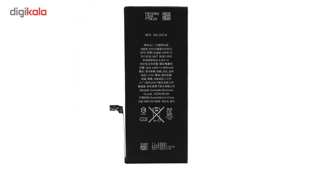 باتری موبایل مدل APN 616-00802 با ظرفیت 2915mAh مناسب برای گوشی های موبایل آیفون 6 پلاس main 1 1