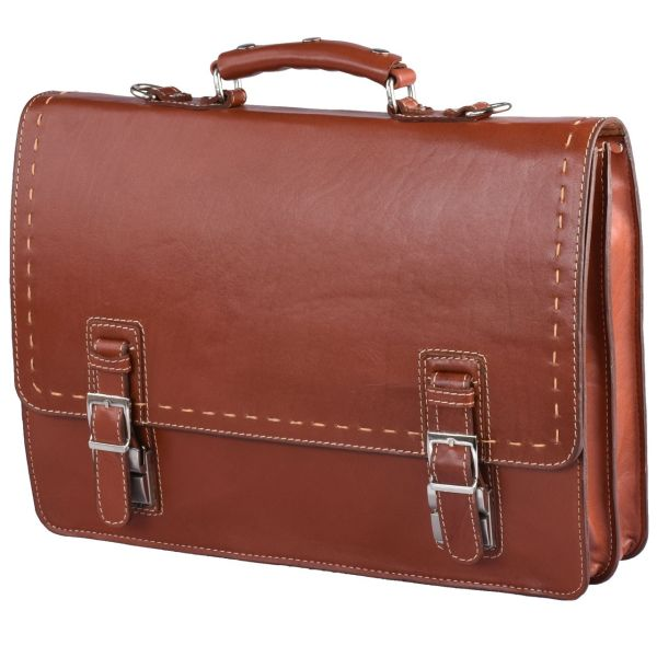 کیف لپ تاپ  چرم طبیعی  کهن چرم مدل L63-50