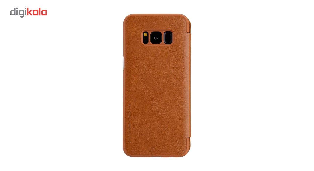کیف کلاسوری نیلکین مدل Qin مناسب برای گوشی موبایل سامسونگ Galaxy S8 main 1 2