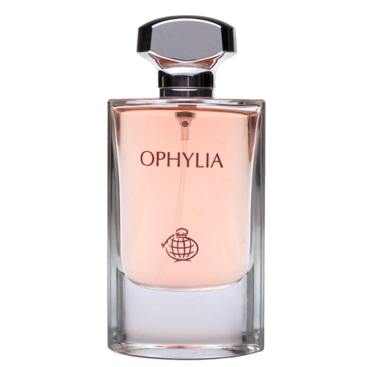 ادو پرفیوم زنانه فراگرنس ورد مدل Ophylia  حجم80 میلی لیتر