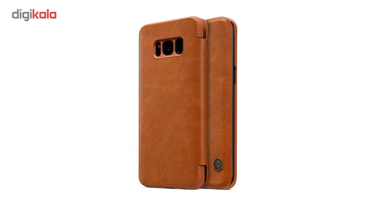 کیف کلاسوری نیلکین مدل Qin مناسب برای گوشی موبایل سامسونگ Galaxy S8 main 1 4