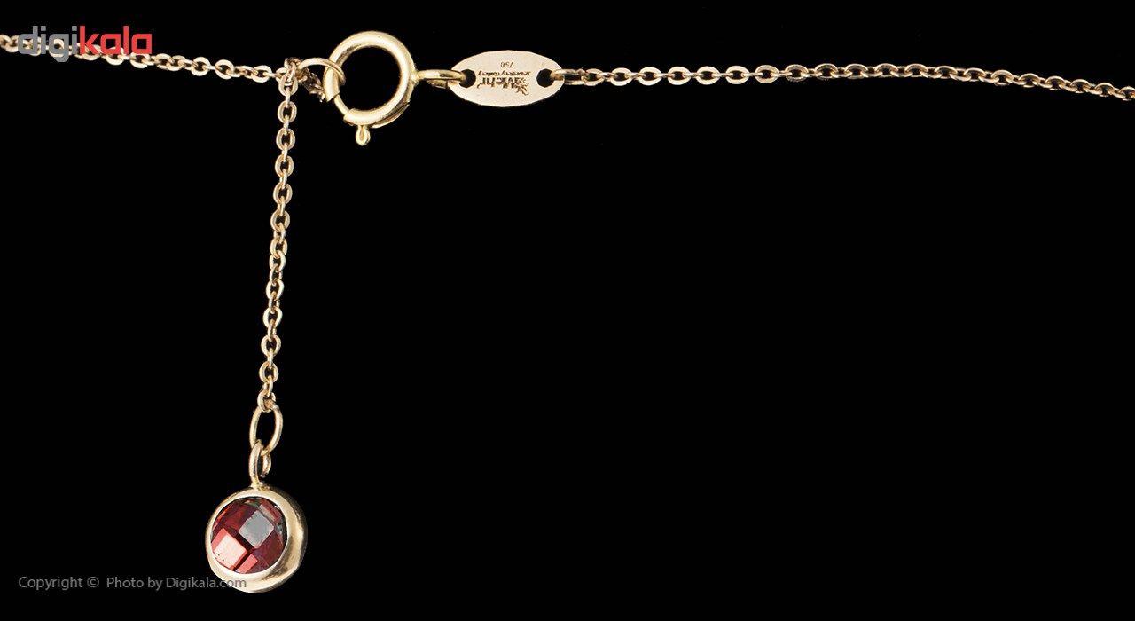 گردنبند طلا 18 عیار ماهک مدل MM0584 - مایا ماهک -  - 4