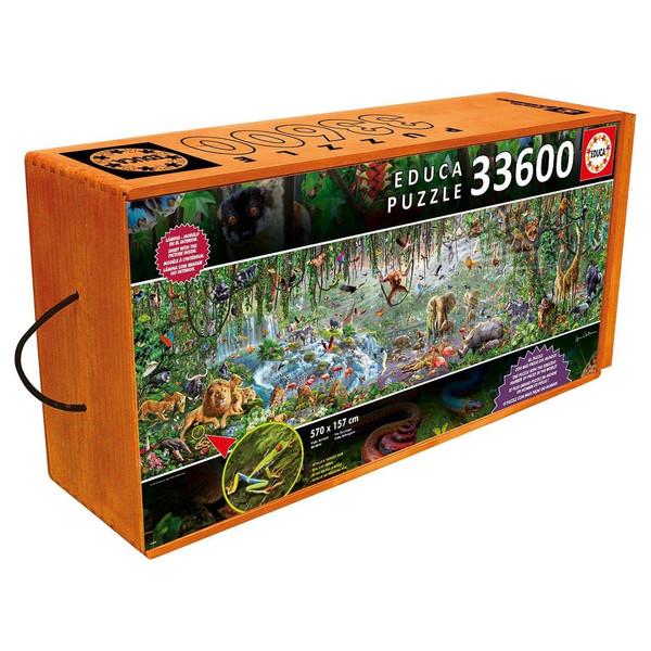 پازل 33600 تکه ادوکا مدل Wild Life
