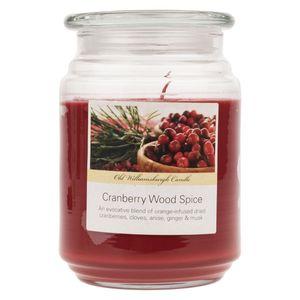 شمع اولد ویلیامزبرگ مدل Cranberry Wood Spice