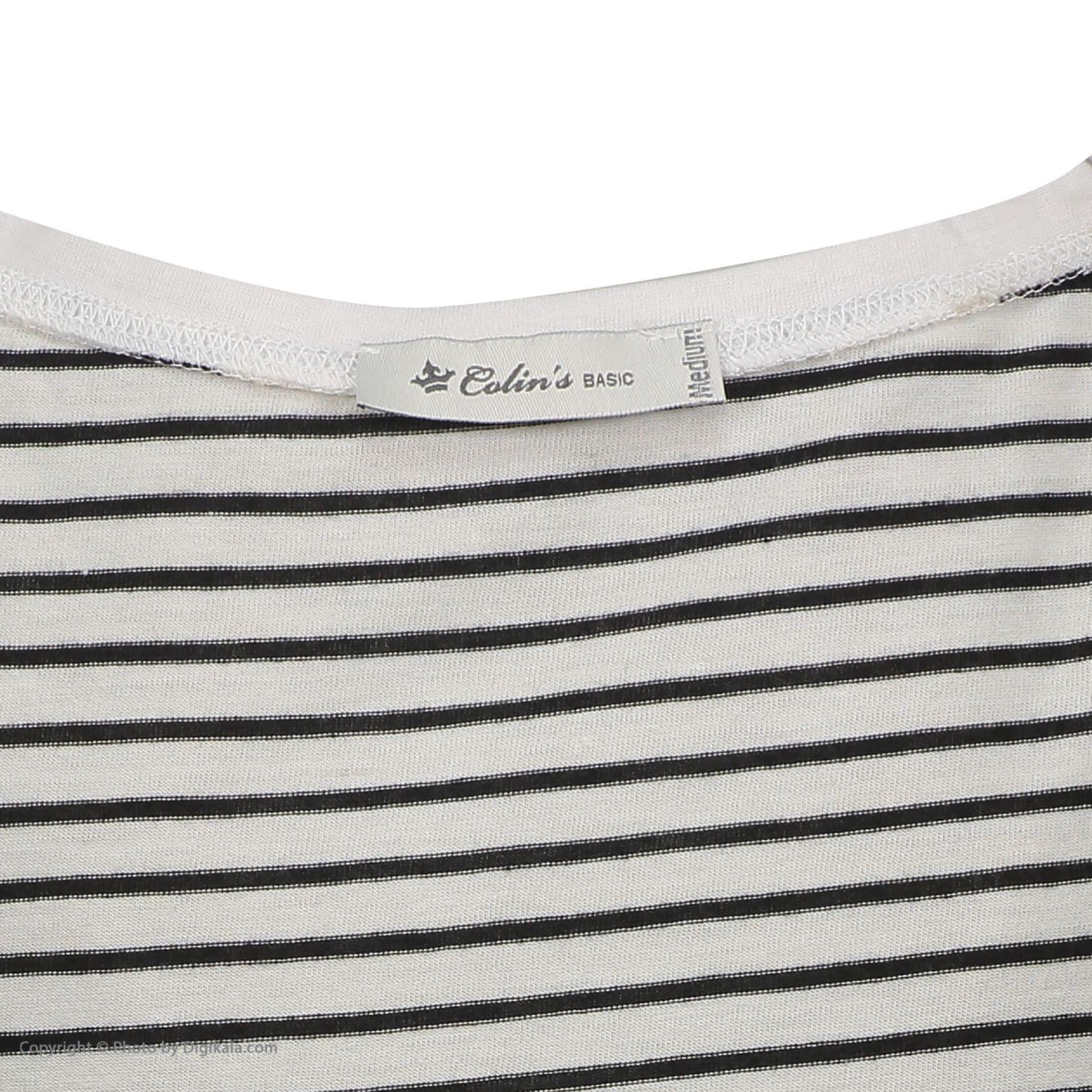 تی شرت زنانه کالینز مدل CL1020423-WHITE main 1 5