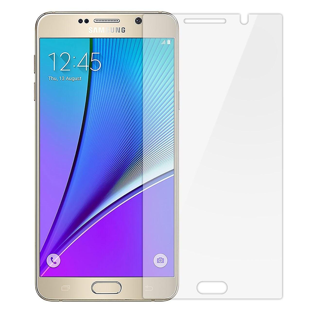 محافظ صفحه نمایش تی پی یو مدل Full Cover مناسب برای گوشی موبایل سامسونگ Galaxy Note 5