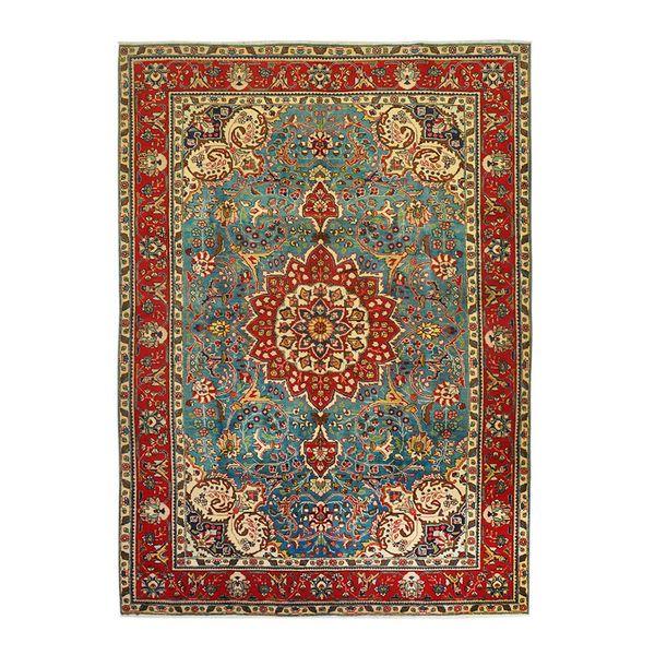 فرش دستبافت قدیمی شش متری کد 166023